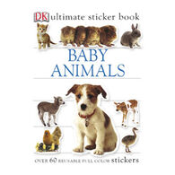 Baby Animals Ultimate Sticker Book by DK Publishing