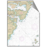 Maptech Portsmouth, NH & Kittery, ME Decorative Nautical Chart