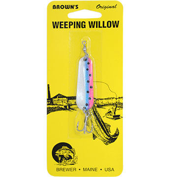 Brown's Weeping Willow Lure