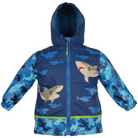 Stephen Joseph Toddler Boy's Shark Rain Jacket