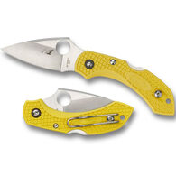 Spyderco Dragonfly 2 Salt Lightweight PlainEdge Folding Knife