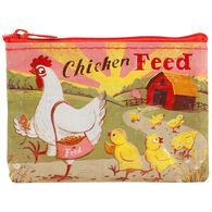 Blue Q Women's Chicken Feed Coin Purse