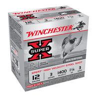 "Winchester Super-X Xpert Hi-Velocity Steel 12 GA 3"" 1-1/4 oz. #3 Shotshell Ammo (25)"