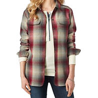 Pendleton Woolen Mills Women's Wool Board Long-Sleeve Shirt
