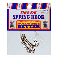Magic Bait King Kat Snelled Spring Bait Holder Hook - 4 Pk.