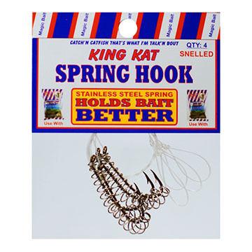 Magic Bait King Kat Spring Bait Holder Hook - 4 Pk.