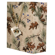 Rivers Edge Acorn & Pine Gift Bag