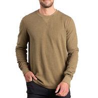 Toad&Co Men's Framer Dos Waffle Knit Crew Long-Sleeve Shirt