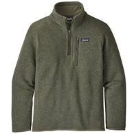 Patagonia Boy's Better Sweater 1/4 Zip Fleece Pullover