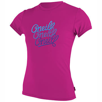 O'Neill Girls' Skins Rash Short-Sleeve T-Shirt