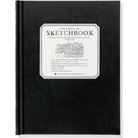 Large Black Premium Sketchbook by Peter Pauper Press