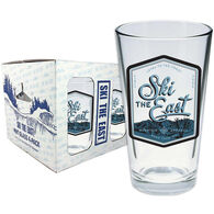 Ski The East Highlands Pint Glass 4-Pack