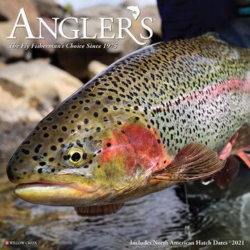 Willow Creek Press Anglers 2021 Wall Calendar