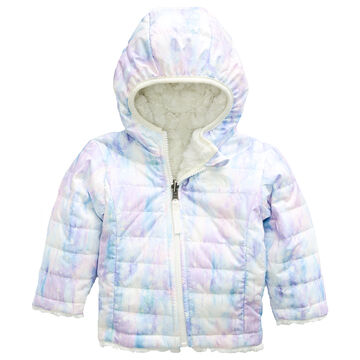 The North Face Infant Girls Reversible Mossbud Swirl Hoodie