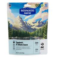 Backpacker's Pantry Vegan Spaghetti & Sauce - 2 Servings