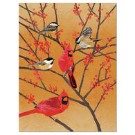 Allport Editions Chickadees and Cardinals Boxed Holiday Cards