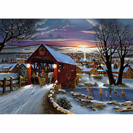 LPG Greetings Covered Bridge Boxed Christmas Cards
