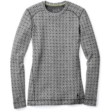 SmartWool Womens NTS Mid 250 Pattern Crew-Neck Baselayer Top