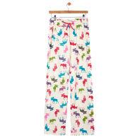 Hatley Women's Patterned Moose Jersey Pajama Pant