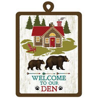 Kay Dee Designs Welcome To Our Den Potholder