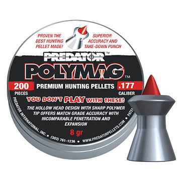 Predator Polymag 177 Cal. 8 Grain Air Gun Pellet (200)