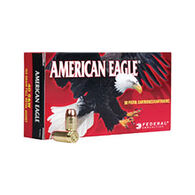 American Eagle 25 Auto (6.35mm Browning) 50 Grain FMJ Handgun Ammo (50)