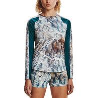Under Armour Women's UA Iso-Chill Shore Break Print Long-Sleeve Shirt