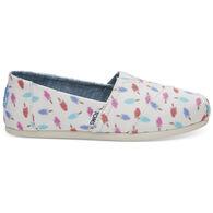TOMS Women's Classic Alpargatas Shoe
