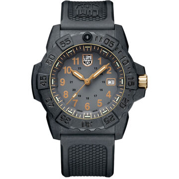 Luminox Navy SEAL 3508 Gold Watch