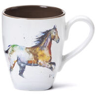 Big Sky Carvers Running Horse Mug