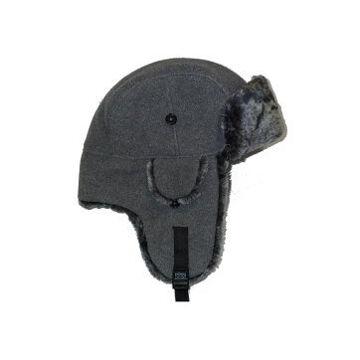 Sterling Men's Poly/Fleece Bomber Hat