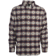 Woolrich Men's Trout Run Cotton Dobby Long-Sleeve Shirt