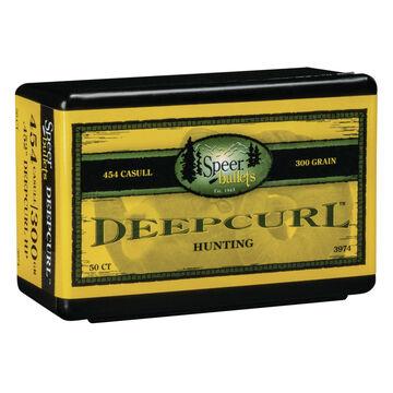 Speer DeepCurl Hunting 451 Cal. 300 Grain 0.452 HP Bullet (50)