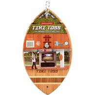 Mellow Militia Tiki Toss Football Edition Hook & Ring Game