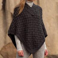 Aran Crafts Women's Nua Merino Wool Poncho