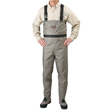 Caddis Breathable Stockingfoot Wader w/Suspenders