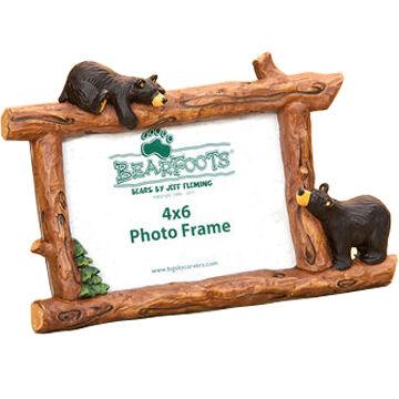 Big Sky Carvers Woodsy Bears Horizontal Frame