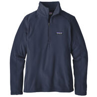 Patagonia Women's Micro D 1/4-Zip Fleece Pullover Top