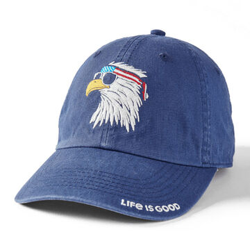 Life is Good Mens American Eagle Chill Cap