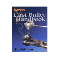 Lyman Cast Bullet Handbook, 4th Edition, by Mike Venturino