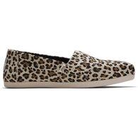 TOMS Women's Leopard Print Alpargata OrthoLite 3.0 Classic Slip-On Shoe