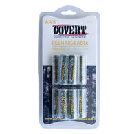 Covert Rechargeable NiMH AA Batteries - 12 Pack