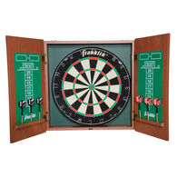 Franklin Sports Bristle Dartboard Cabinet Set