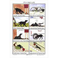 Samuel Lamont and Sons It's A Dog's Life Linen Union Tea Towel