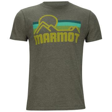 Marmot Mens Coastal Marmot x Thread Short-Sleeve T-Shirt