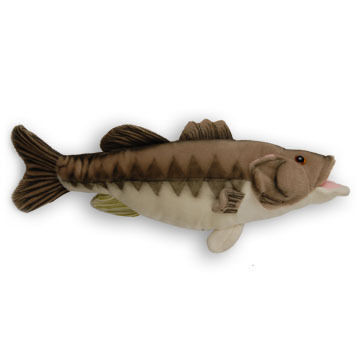 "Cabin Critters 17"" Plush Large Mouth Bass"