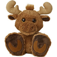 "Aurora Maple Moose 10"" Plush Stuffed Animal"