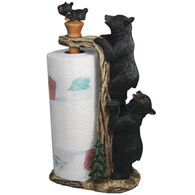 Rivers Edge Bear Paper Towel Holder