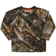 Carhartt Infant/Toddler Boy's Camo Raglan Long-Sleeve Shirt