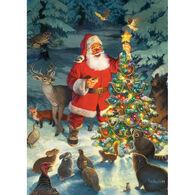 Outset Media Jigsaw Puzzle - Santa's Tree